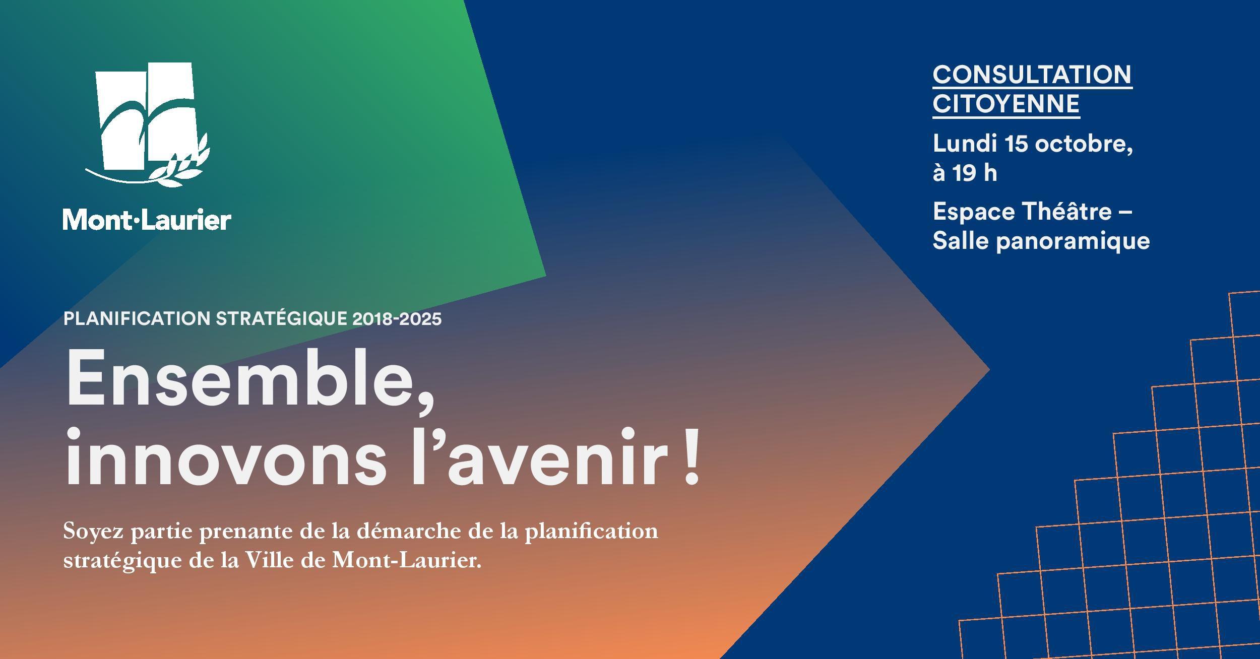 Ville Montréal Qc Ca Payer Constat >> Planification Strategique Vie Municipale Mont Laurier